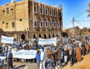algeria protests fracking