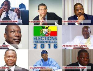 Benin Presidential Candidates