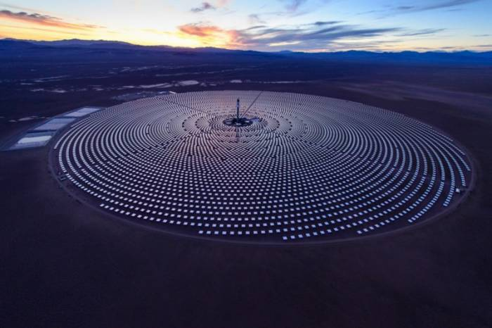 Morocco S First Solar Power Plant Opened By King Mohammed