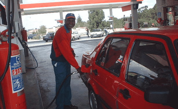 south africa petrol station