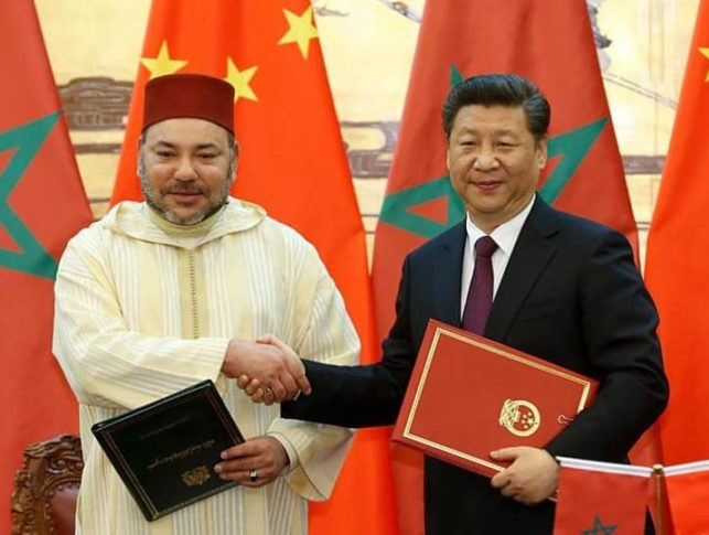 morocco china trade