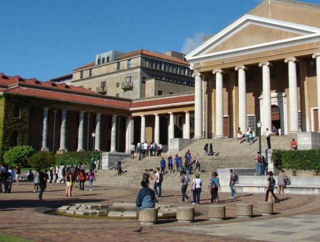 University of Cape Town, in South Africa