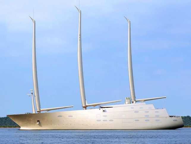 Sailing Yacht A >> Sailing Yacht A Privinvest S New Giant Ready For Sea