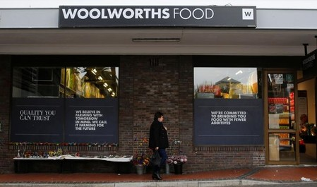 Australia's Woolworths posts 15 pct rise in H1 profit